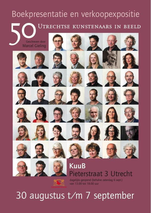 50 utrechtse kunstenaars